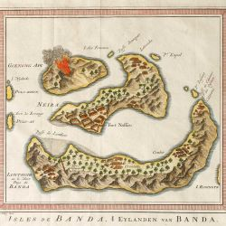 Map Banda Islands