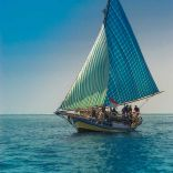 Pulau Rhun - traditional sailing boats